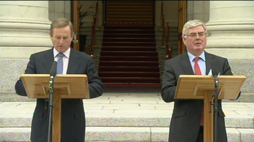 Kenny & Gilmore - Govt's focus is on economic recovery