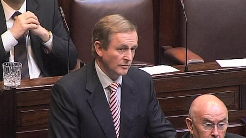 Enda Kenny - ARFs not considered pension funds