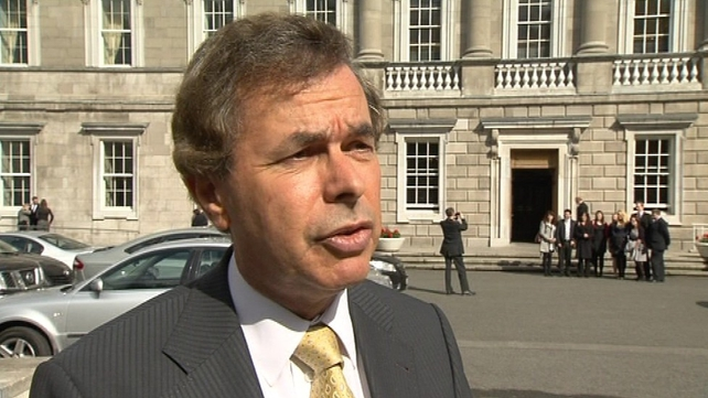 Alan Shatter - Discussions on redacted portions are ongoing