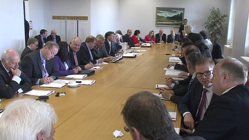 Northern Ireland Assembly - Members gather at Stormont