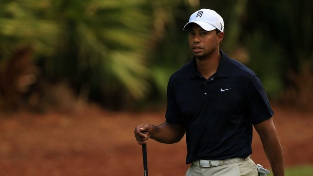 Tiger Woods - Has withdrawn from the Players Championship after just nine holes of his first round