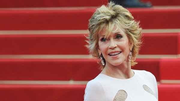 Jane Fonda, 73, stole the limelight on the red carpet