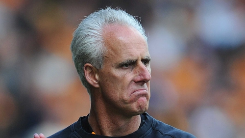 Mick McCarthy has the support of Ian Harte