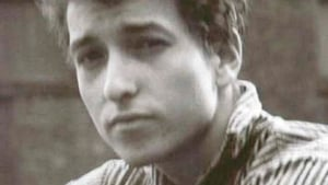 A young Bob Dylan around the time of the recording of that first self-titled album