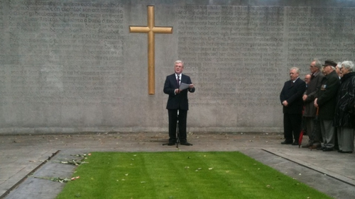 Eamon Gilmore - Speaking at annual James Connolly Commemoration
