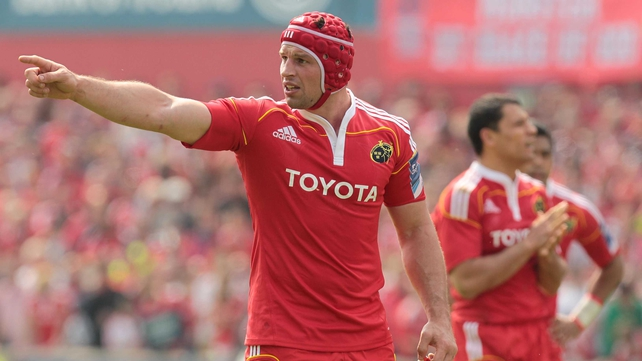Denis Leamy is sticking with Munster