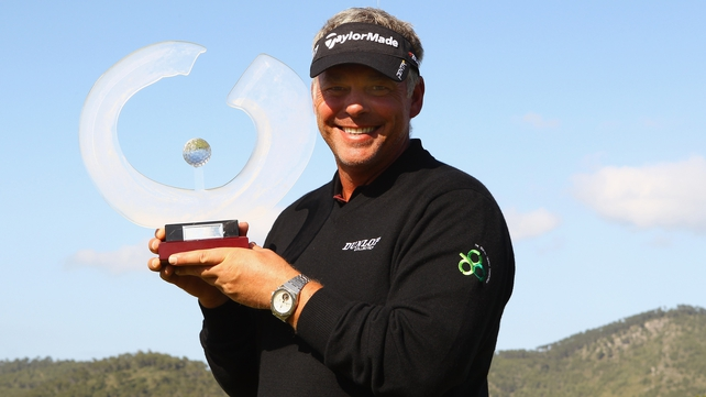 Darren Clarke - The Portrush man pulled clear of overnight leader Chris Wood to secure a three-shot victory