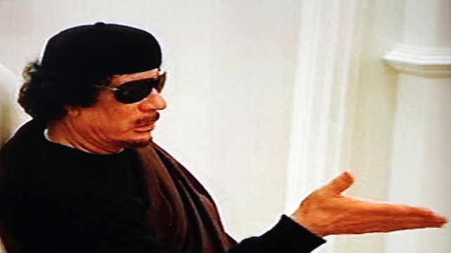 Former Libyan dictator Muammar Gaddafi gave semtex explosives, guns and cash to the IRA