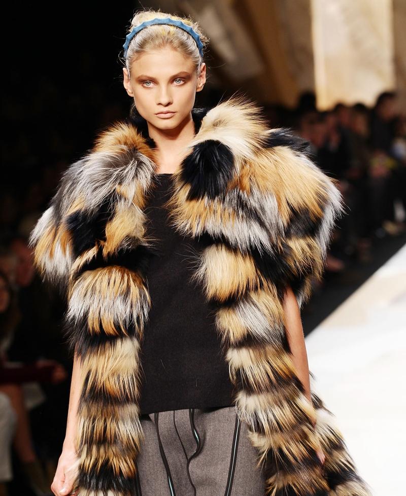 61ba6b6a1a01 Seoul bans fur in Fendi Fashion Show