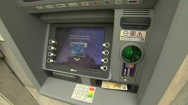 Card details are obtained by skimming; with cards physically copied by criminals at ATMs