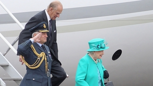 Queen Elizabeth II and the Duke of Edinburgh arrived for four-day State visit on 17 May 2011