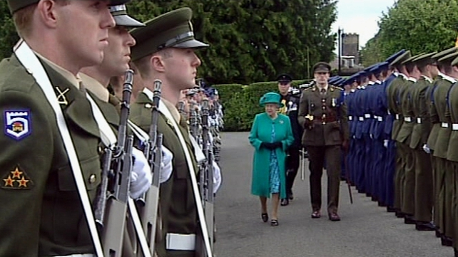 Queen Elizabeth II - In Ireland on State visit