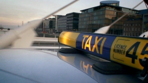 The drivers argued that the sudden deregulation of the market had reduced the value of taxi plates
