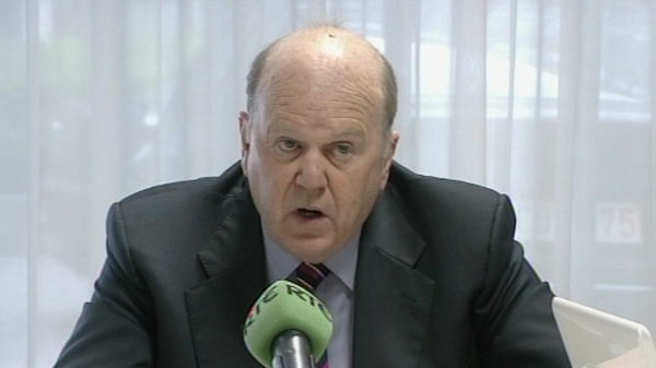 Michael Noonan - Outlined plan to RTÉ News