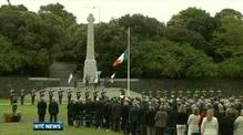 Six One News: Queen Elizabeth visits war memorial
