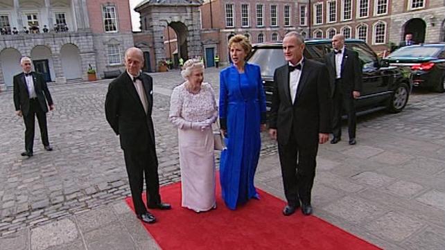 Dublin - State Dinner in honour of Queen Elizabeth