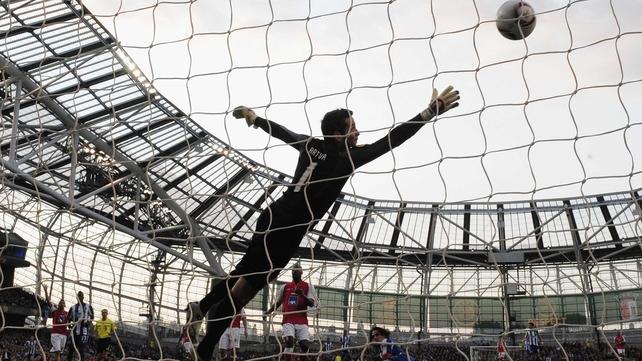 Falcao's goal was enough to win the Europa League final