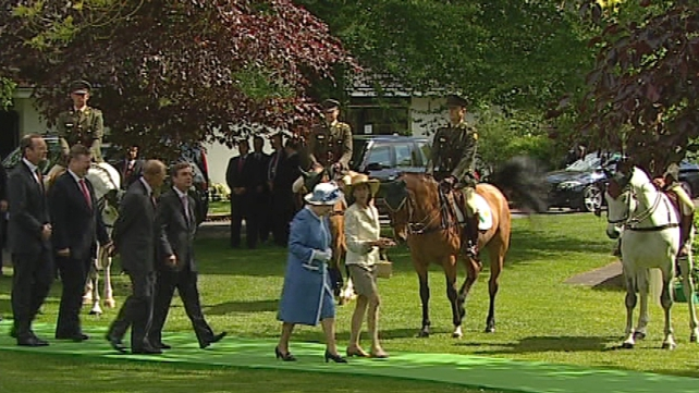 Irish National Stud - Queen Elizabeth meeting students