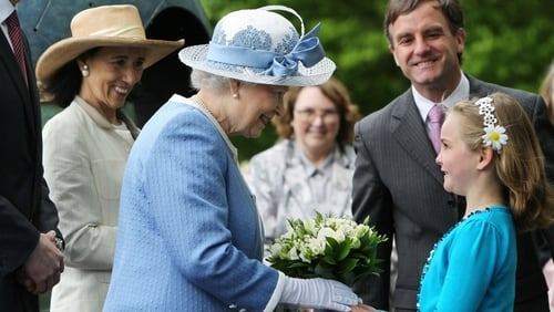 Queen Elizabeth II - Visited the National Stud