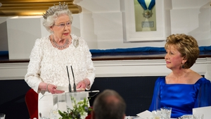 The Queen's speech made reference to the past and current relationship between Britain and Ireland