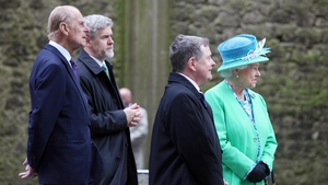 The royal couple visited the Rock of Cashel on the final day of the visit and were accompanied by Brendan Howlin and Dr Eugene Keane