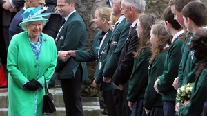 Students from Cashel Community School got the royal seal of approval