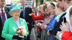 Queen Elizabeth received a warm welcome in Cork