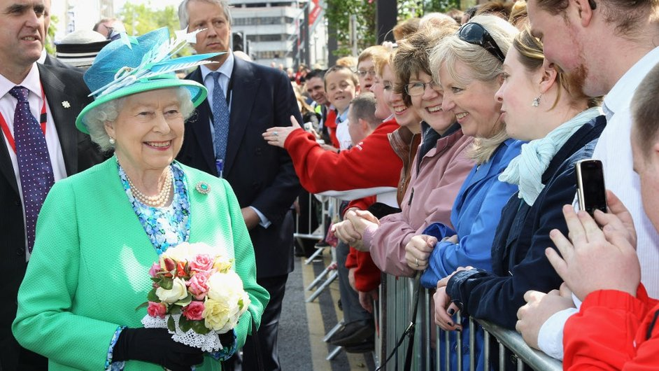 Queen Elizabeth received a warm welcome in Cork