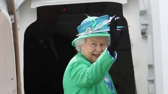 Queen Elizabeth II - Described her visit as 'brilliant'