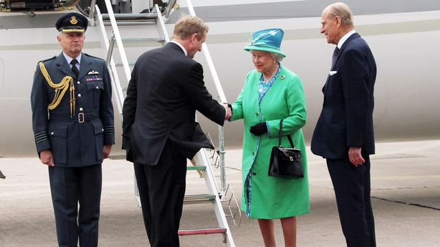Queen Elizabeth II and Prince Philip visited Ireland in May