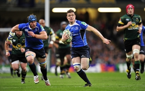 Brian O'Driscol and Sean O'Brien - both men are fit for Leinster's Magners League Grand Final outing
