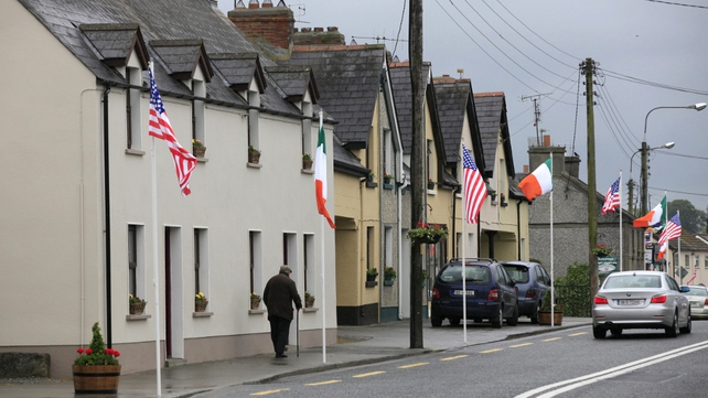 Moneygall - Obama expected to fly to his ancestral home
