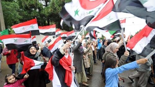 Syria - Sustained protests against al-Assad regime