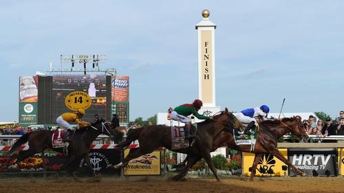 Jockey Jesus Castanon got the fractions just right on the front-running Shackleford