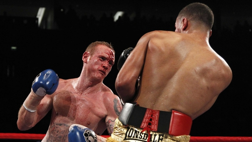 George Groves is hoping to bounce back from his defeat to Carl Froch