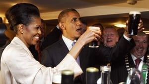 Barack Obama and his wife Michelle visited Moneygall five years ago