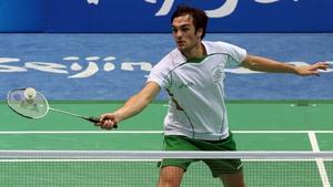Scott Evans is Ireland's male hope in badminton