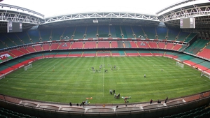 Millennium Stadium, Cardiff is one of the soccer venues