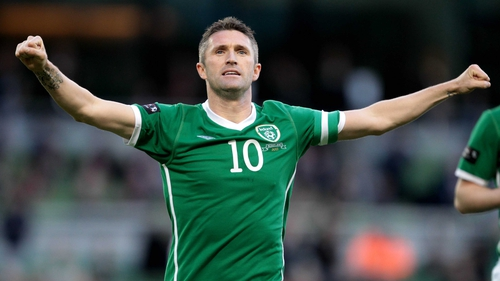 Robbie Keane - Scored his 47th and 48th international goals