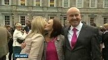 Nine News: Senators gather for new Seanad