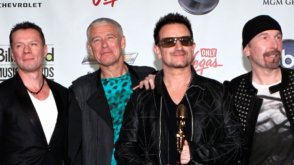 U2 - Forbes says that they made $195m in the period May 2010 to May 2011
