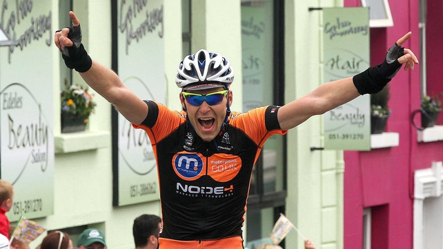 Marcin Bialoblocki will race the Rás again in 2013