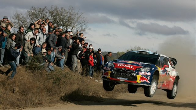 Sebastien Loeb forged further clear of Dani Sordo in the opening race of the campaign