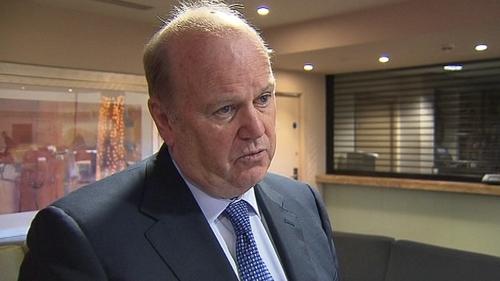 Michael Noonan - Ireland has been given a clean bill of health