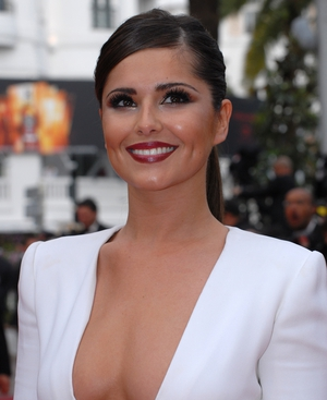 Cheryl Cole pictured at the Cannes Film Festival