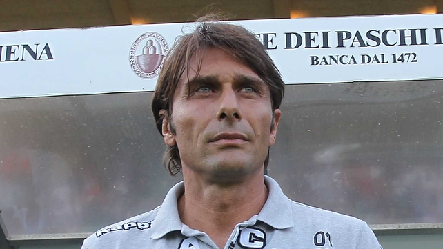 Antonio Conte - Earned promotion to Serie A with Siena last season