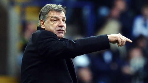 Allardyce's Hammers are currently mid-table in the Premier League