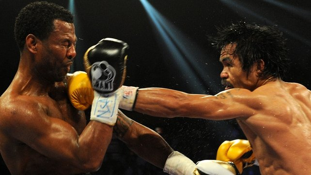 Manny Pacquiao (r) - Eight-division world champion