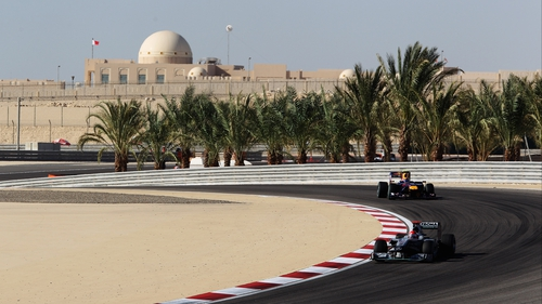 The Bahrain Grand Prix will continue, according to Bernie Ecclestone