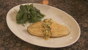 Martin Shanahan's Lemon Sole with Mango and Cucumber Salsa